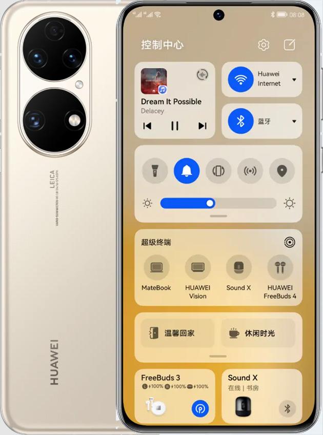 foto del cellulare Huawei P50