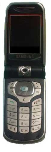 foto del cellulare Samsung  i250