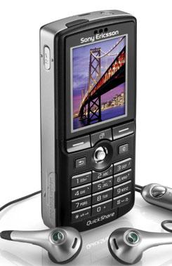 foto del cellulare Sony Ericsson K750i