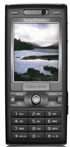 foto del cellulare Sony Ericsson K800i