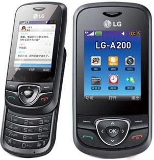 foto del cellulare Lg A200