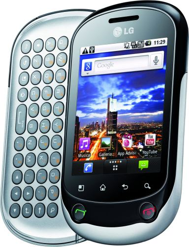 foto del cellulare Lg Optimus Chat
