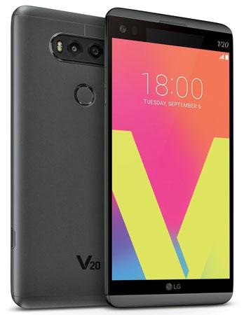 foto del cellulare Lg V20