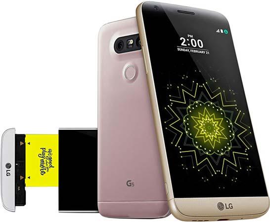 foto del cellulare Lg G5