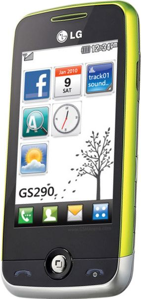 foto scheda Lg GS290 Cookie Fresh