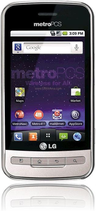 foto del cellulare Lg Optimus M