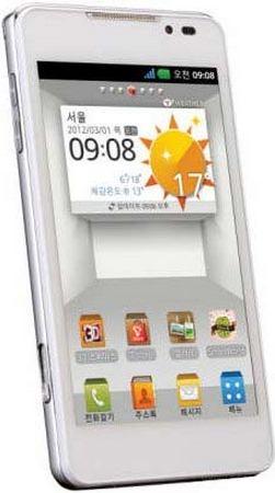 foto del cellulare Lg Optimus 3D Cube