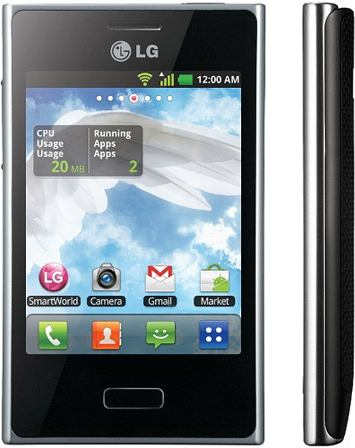 foto del cellulare Lg Optimus L3