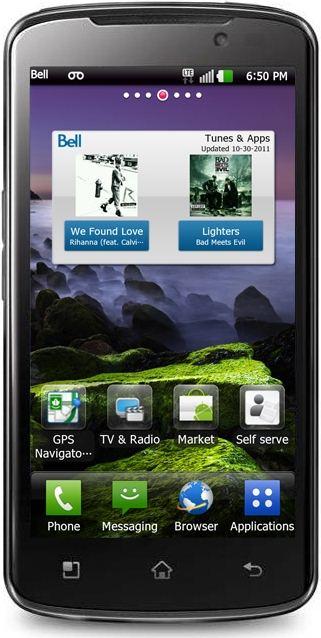 foto del cellulare Lg Optimus LTE