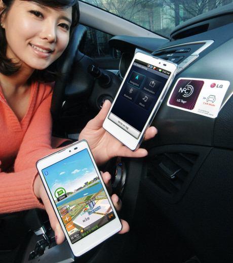 foto del cellulare Lg Optimus LTE Tag