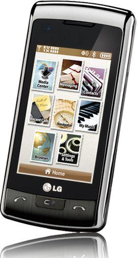 foto del cellulare Lg VX11000 enV Touch