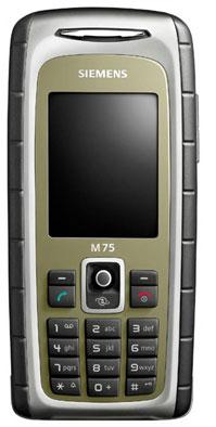 foto del cellulare Siemens M75