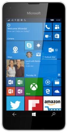 foto del cellulare Microsoft Lumia 550