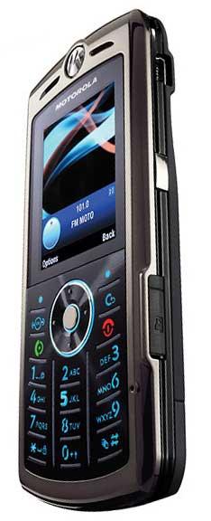 foto del cellulare Motorola SLVR L9