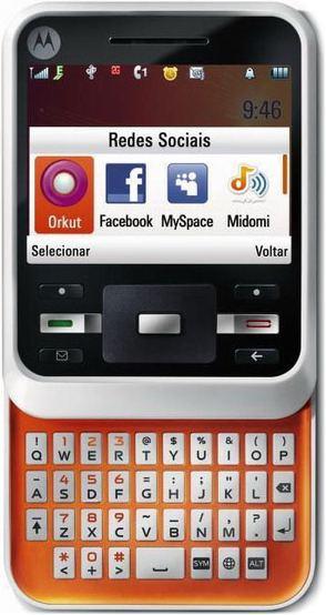 foto del cellulare Motorola A45 Motocubo