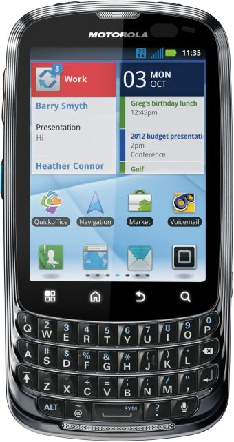 foto del cellulare Motorola Admiral