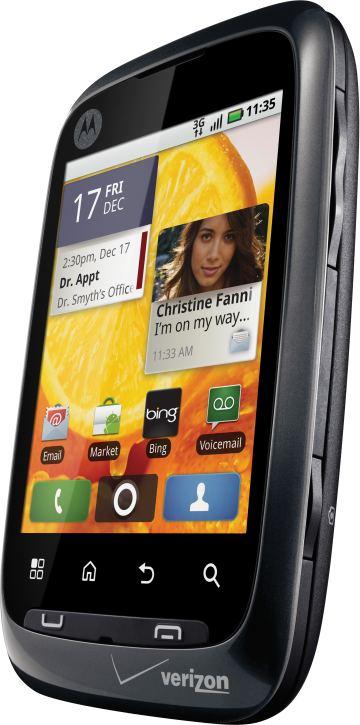 foto del cellulare Motorola Citrus
