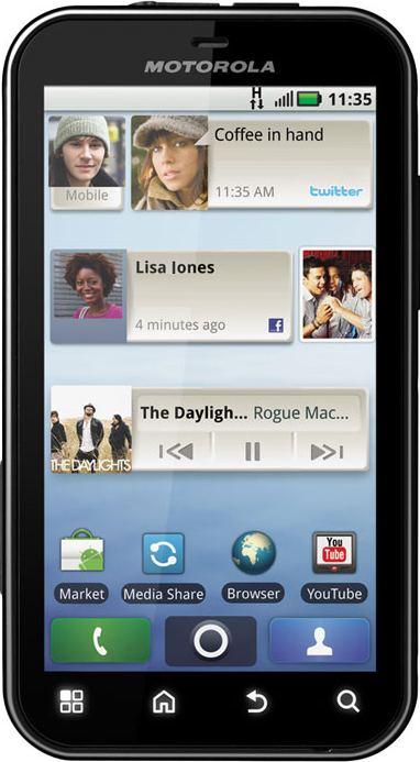 foto del cellulare Motorola Defy