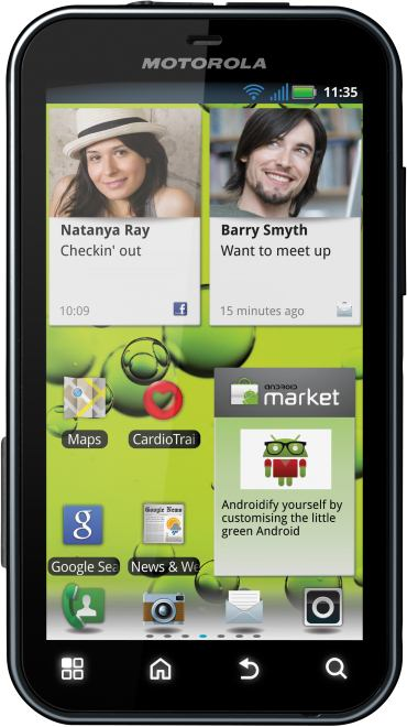 foto del cellulare Motorola Defy Plus