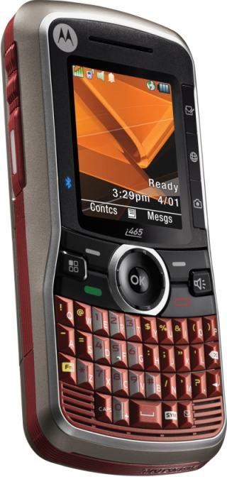 foto del cellulare Motorola i465 Clutch