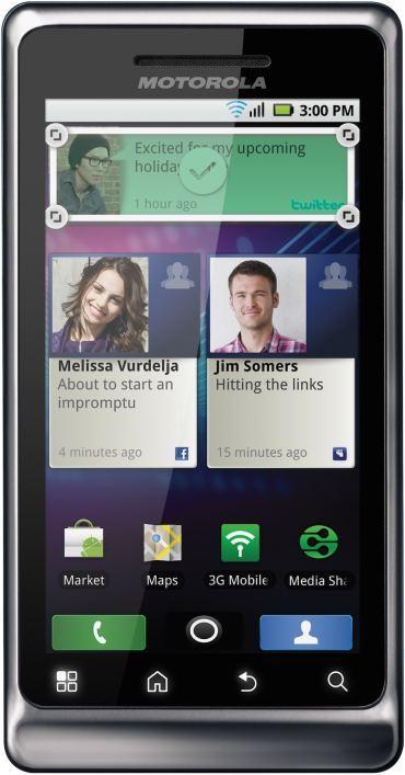 foto del cellulare Motorola Milestone 2