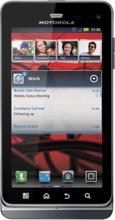 foto del cellulare Motorola Milestone 3