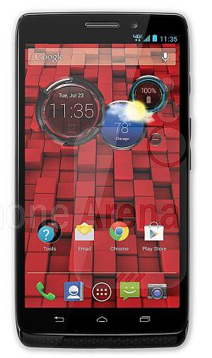 foto del cellulare Motorola Moto Maxx