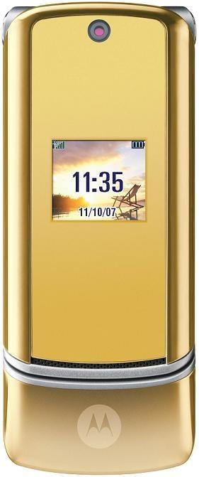 foto del cellulare Motorola MOTOKRZR K1 Gold