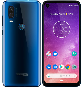 foto del cellulare Motorola One Vision