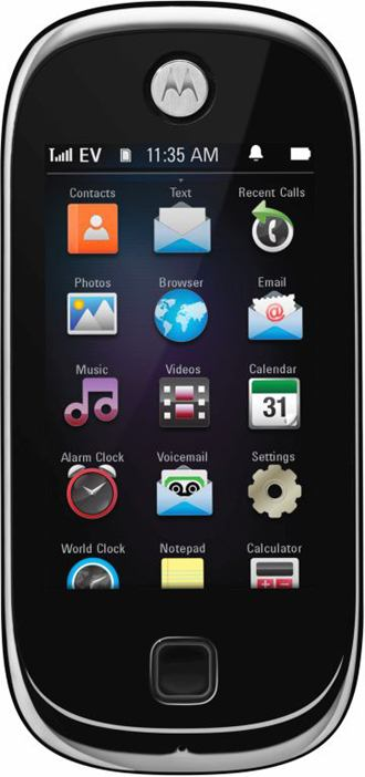 Scheda tecnica Motorola QA4 Evoke