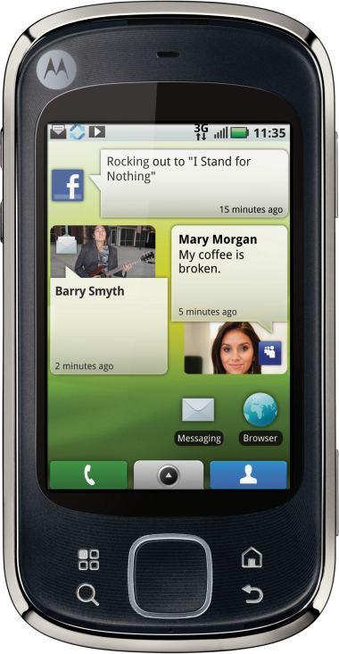 foto del cellulare Motorola Quench