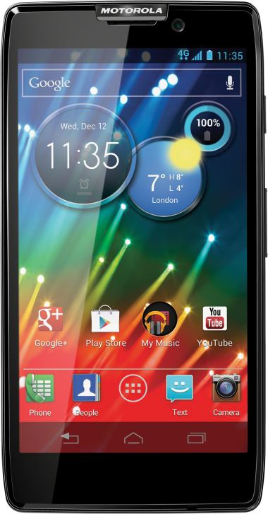 foto del cellulare Motorola Razr HD