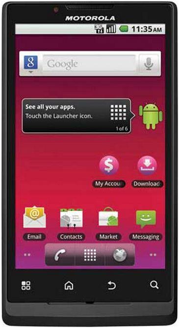 foto del cellulare Motorola Triumph