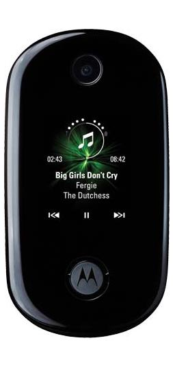 foto del cellulare Motorola Moto Pebl U9