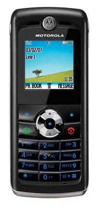 foto del cellulare Motorola W218