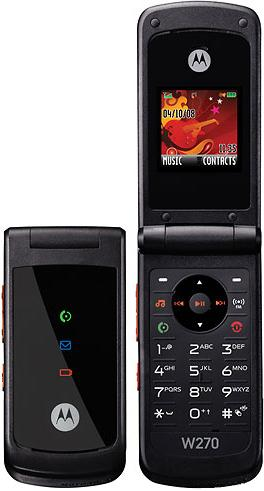 foto del cellulare Motorola W270