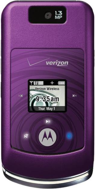 foto del cellulare Motorola W755