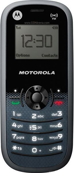foto del cellulare Motorola WX161