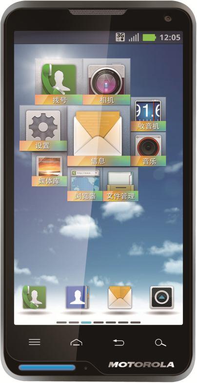 foto del cellulare Motorola XT615