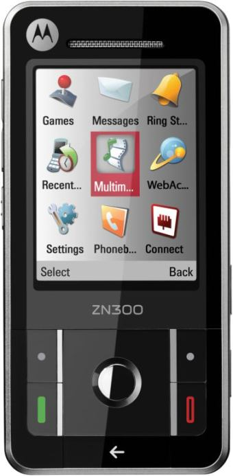 foto del cellulare Motorola ZN300 Moto