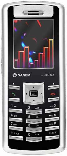 foto del cellulare Sagem My405x