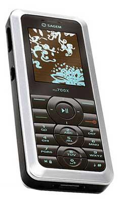 foto del cellulare Sagem my700X