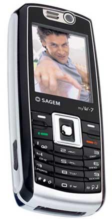foto del cellulare Sagem My W-7