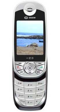 foto del cellulare Sagem MyZ3