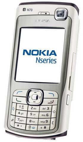 foto del cellulare Nokia N70