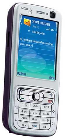 foto del cellulare Nokia N73