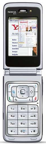 foto del cellulare Nokia N75
