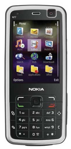 foto del cellulare Nokia N77