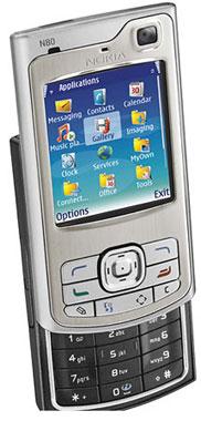 foto del cellulare Nokia N80