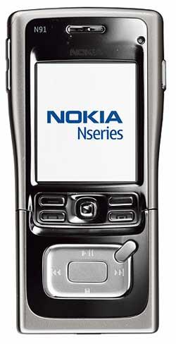 foto del cellulare Nokia N91